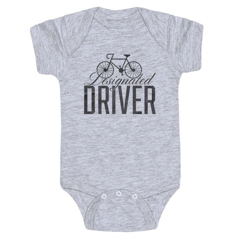 Designated Driver Baby Onesy
