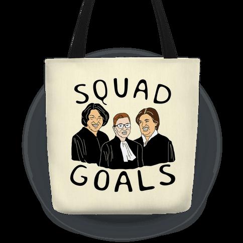 eff41b9fe1 Squad Goals Tote Bag