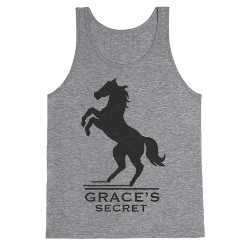 Grace's Secret Faux Fashion Logo Tank Top