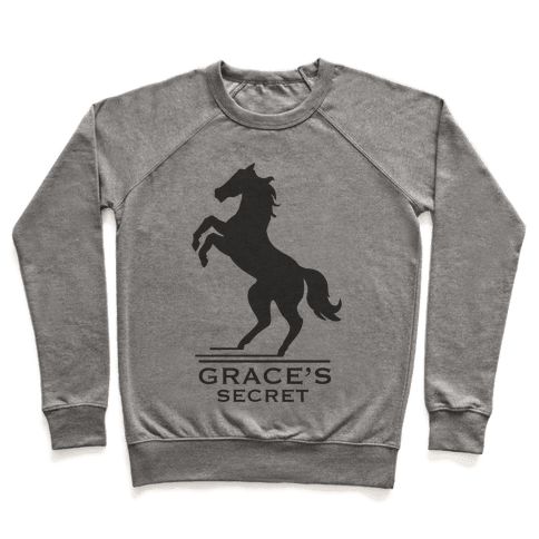 Grace's Secret Faux Fashion Logo Pullover