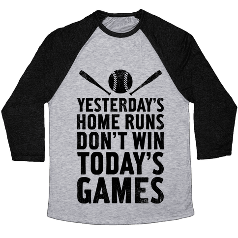 Yesterday's Home Runs (Vintage) Baseball Tee
