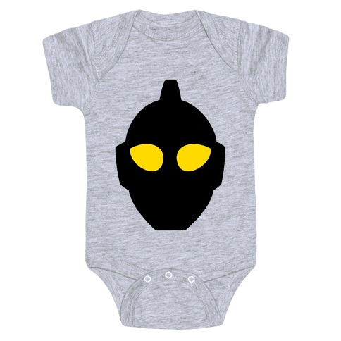 Ultraman Head Baby Onesy