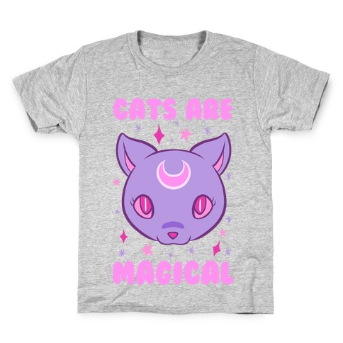 Cats Are Magical Kids T-Shirt