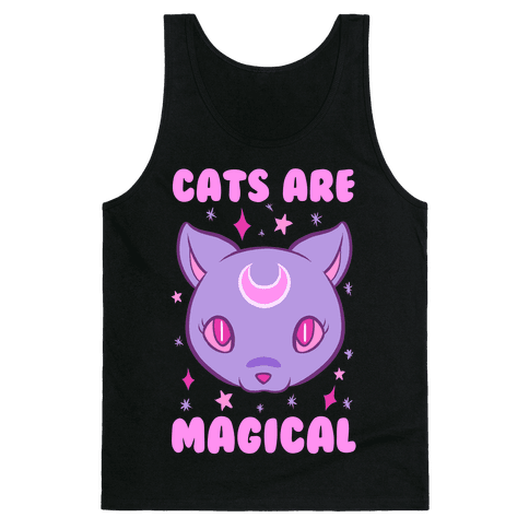 Cats Are Magical Tank Top