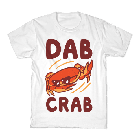 Dab Crab Kids T-Shirt
