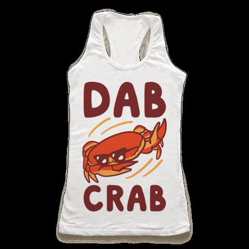 Dab Crab Racerback Tank Top