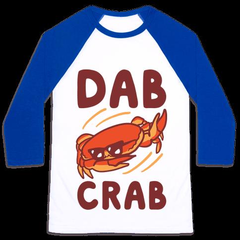 Dab Crab Baseball Tee