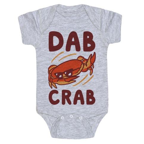 Dab Crab Baby Onesy