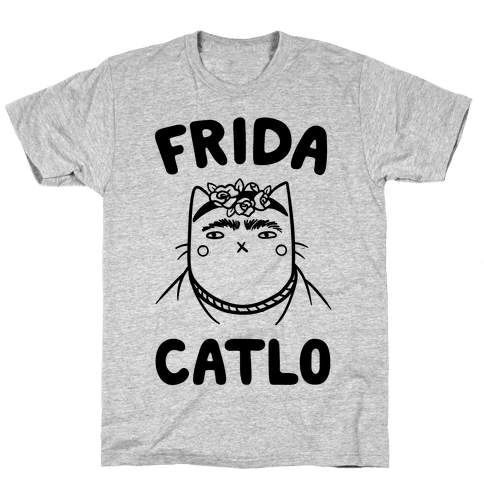Frida Catlo Mens T-Shirt
