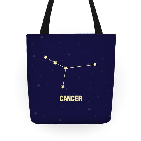 Cancer Horoscope Sign Tote