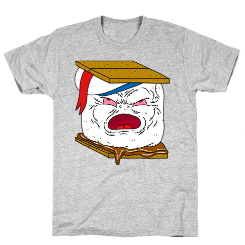 Stay Puft Smore Head Mens T-Shirt