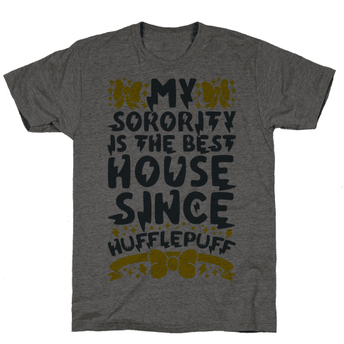 Hufflepuff Sorority Mens T-Shirt