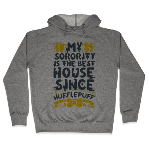 Hufflepuff Sorority Hooded Sweatshirt