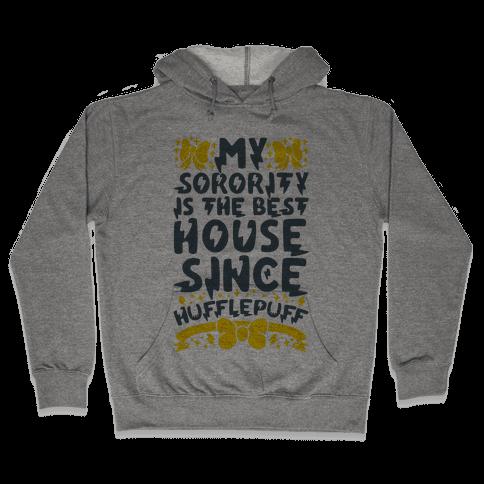 Hufflepuff Sorority Hooded Sweatshirt