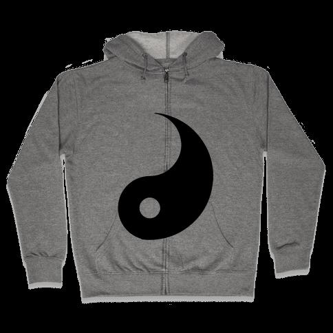 You're the Yin to my Yang Zip Hoodie