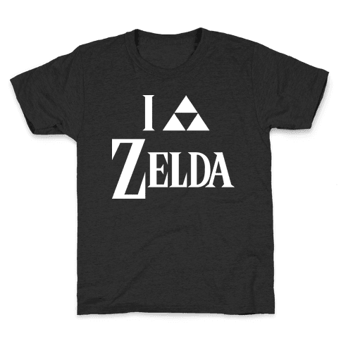 I Triforce Zelda Kids T-Shirt