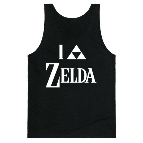 I Triforce Zelda Tank Top