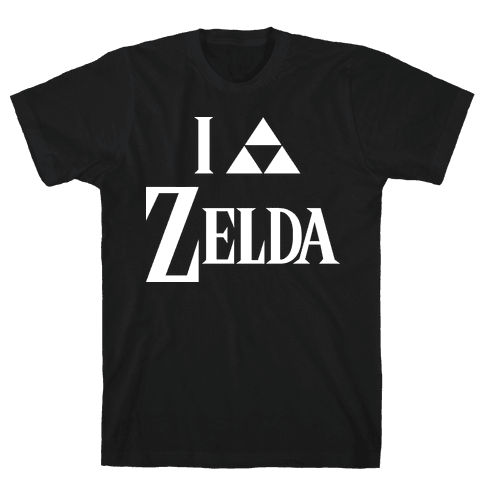 I Triforce Zelda Mens T-Shirt