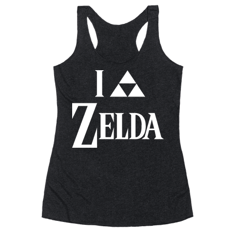 I Triforce Zelda Racerback Tank Top