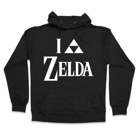 I Triforce Zelda Hooded Sweatshirt