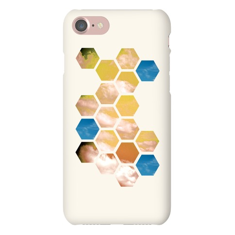 Cloud Collage Phone Case