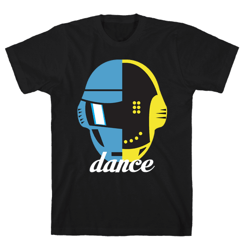 Dance and Get Lucky Mens T-Shirt