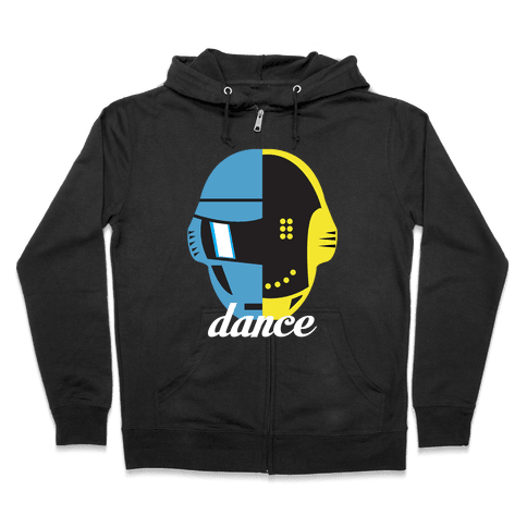 Dance and Get Lucky Zip Hoodie