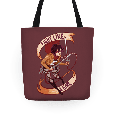 Mikasa: Fight Like a Girl Tote
