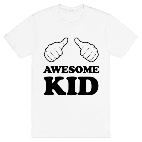 Awesome Kid Mens T-Shirt