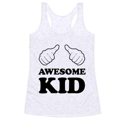 Awesome Kid Racerback Tank Top