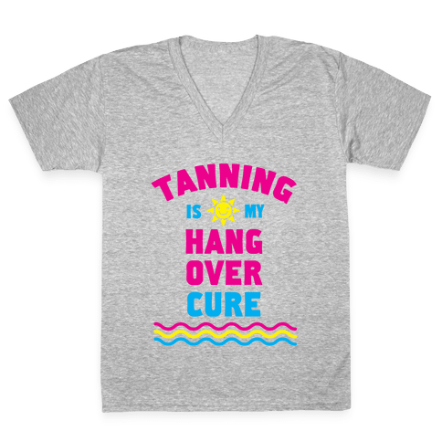 Hangover Cure V-Neck Tee Shirt