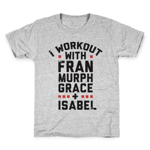 Workout Friends Kids T-Shirt