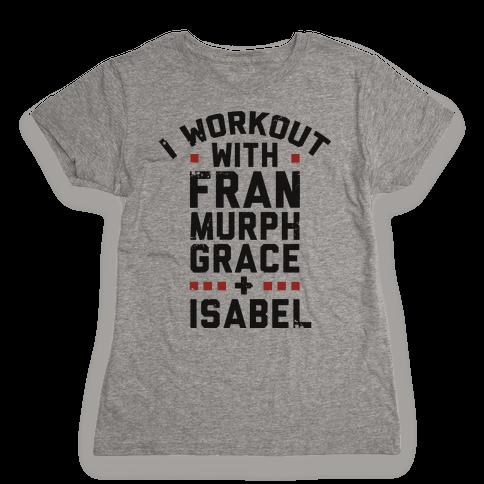 Workout Friends Womens T-Shirt