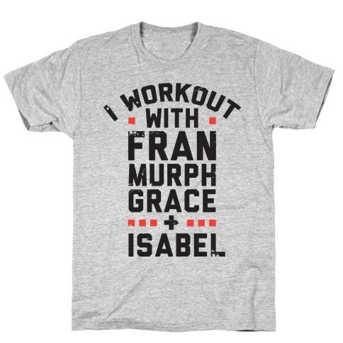 Workout Friends Mens T-Shirt