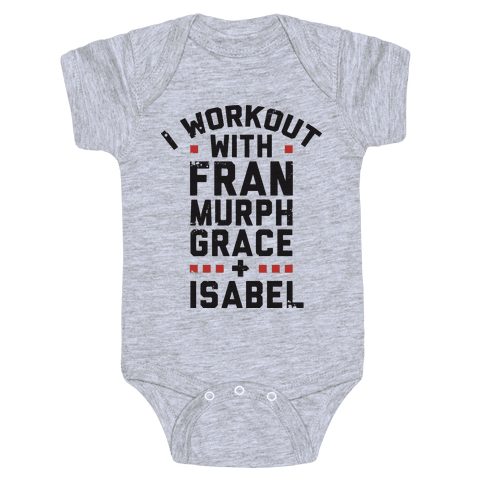 Workout Friends Baby Onesy