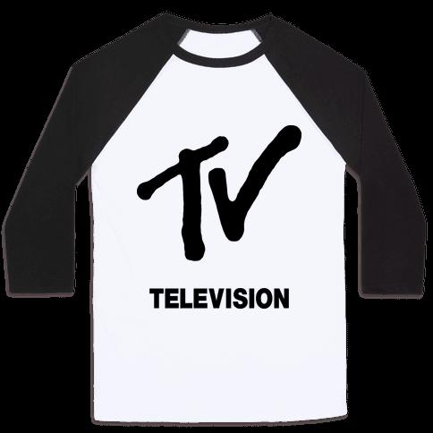 TV Baseball Tee