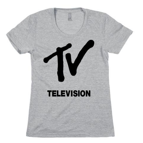 TV Womens T-Shirt