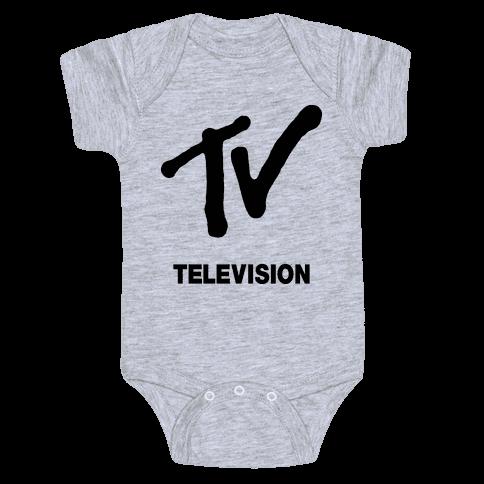 TV Baby Onesy
