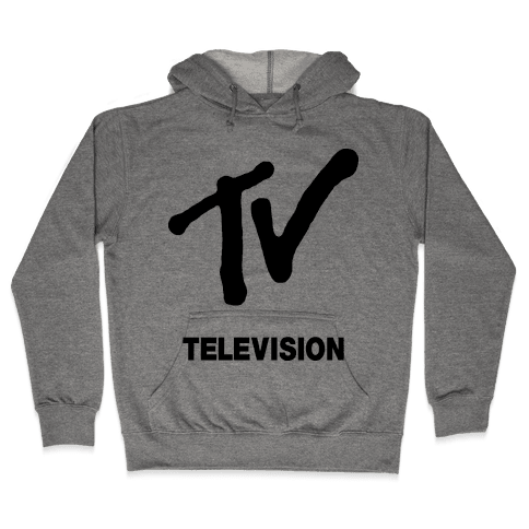 TV Hooded Sweatshirt
