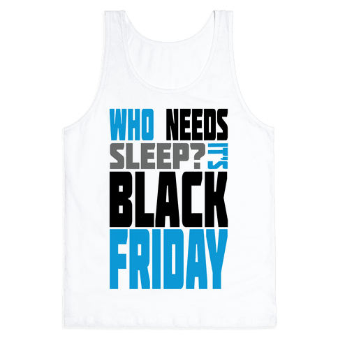 Black Friday (long sleeve) Tank Top