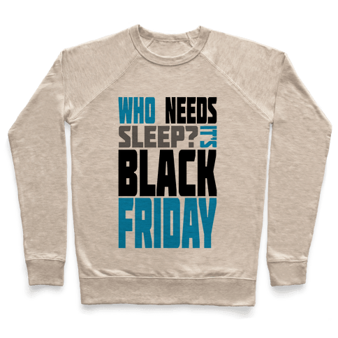 Black Friday (long sleeve) Pullover
