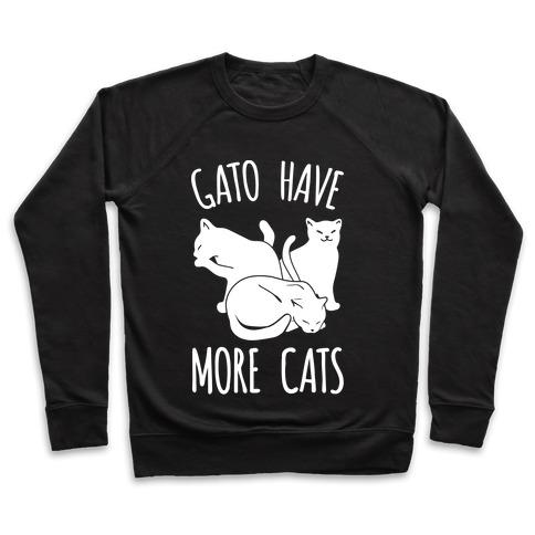 Gato Have More Cats Pullover