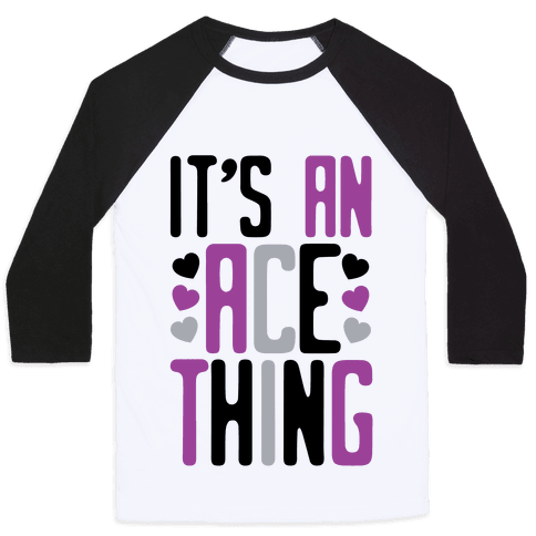 It's An Ace Thing Baseball Tee