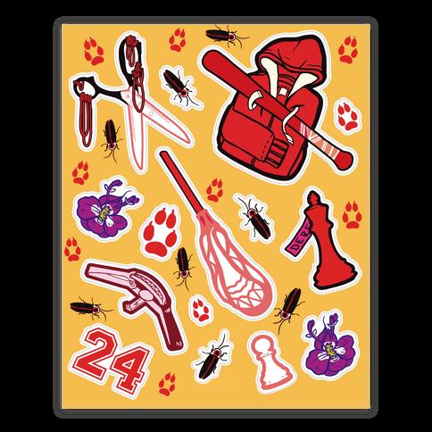 Team Stilinski Sticker/Decal Sheet