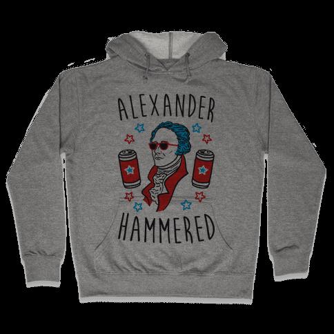 Alexander Hammered Hooded Sweatshirt