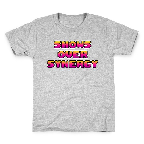 Show's Over Synergy Kids T-Shirt