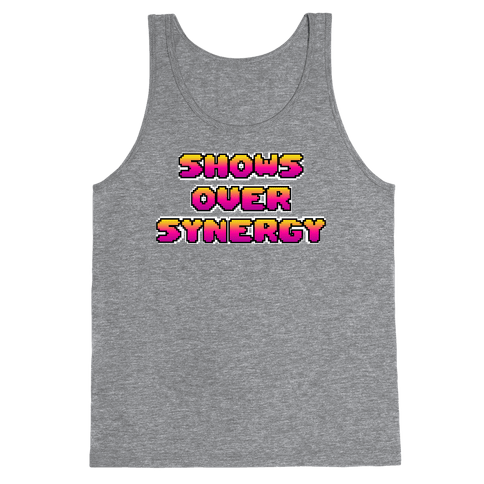 Show's Over Synergy Tank Top
