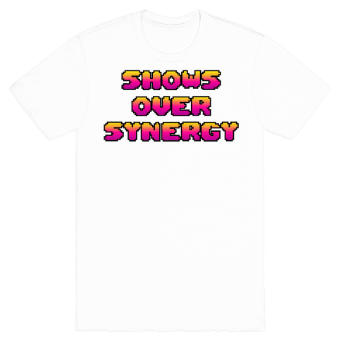 Show's Over Synergy Mens T-Shirt