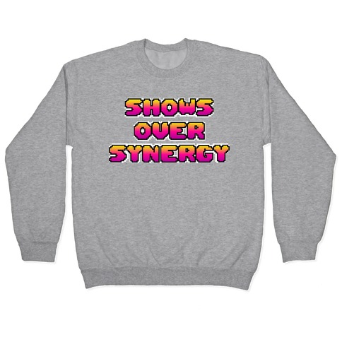 Show's Over Synergy Pullover