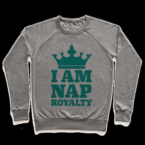 I Am Nap Royalty Pullover